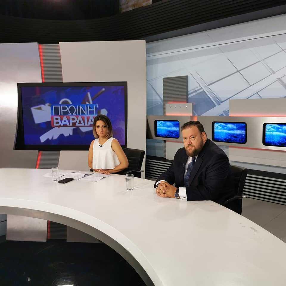 Στην εκπομπή Πρωινή Βάρδια στην ΕΡΤ εμφανίστηκε ο Σπύρος Κυριάκης (Βίντεο) – Η φωνή του νομού Πρεβέζης ακούστηκε παντού!!