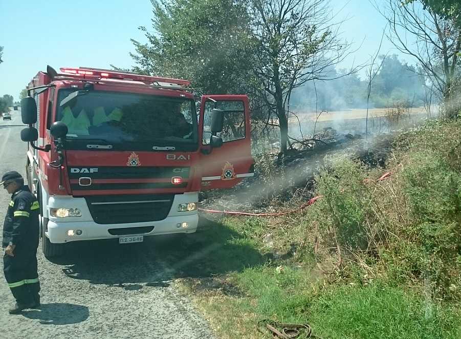 Σε εξέλιξη δύο φωτιές στην περιοχή της Πρέβεζας!