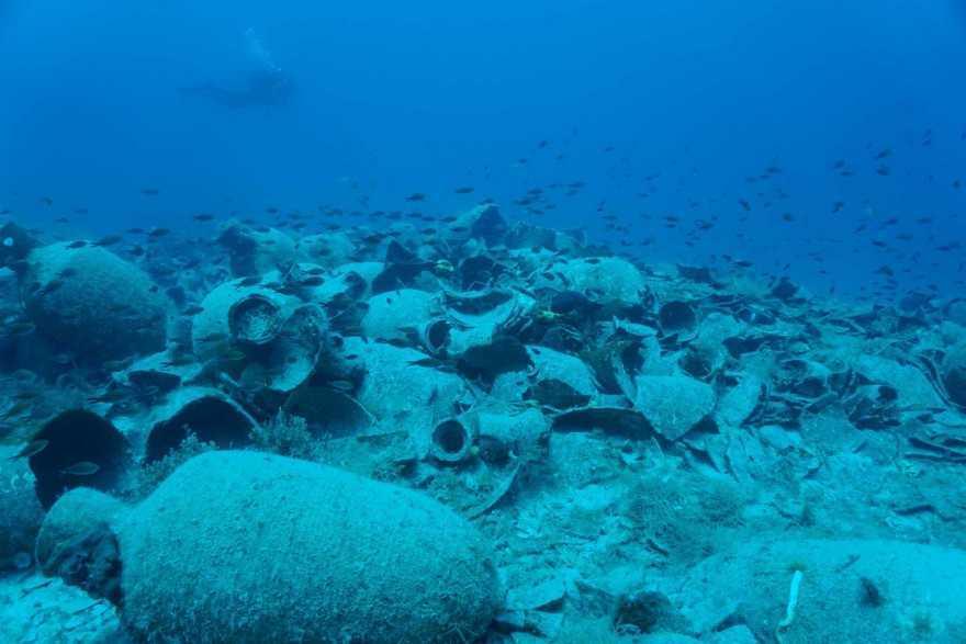 Αρχαίοι ελληνικοί αμφορείς εντοπίστηκαν στις ακτές της Αλβανίας